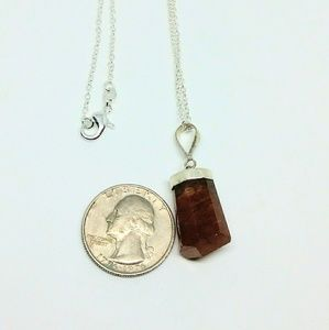 Genuine Hessonite Garnet Success Traveler's Stone